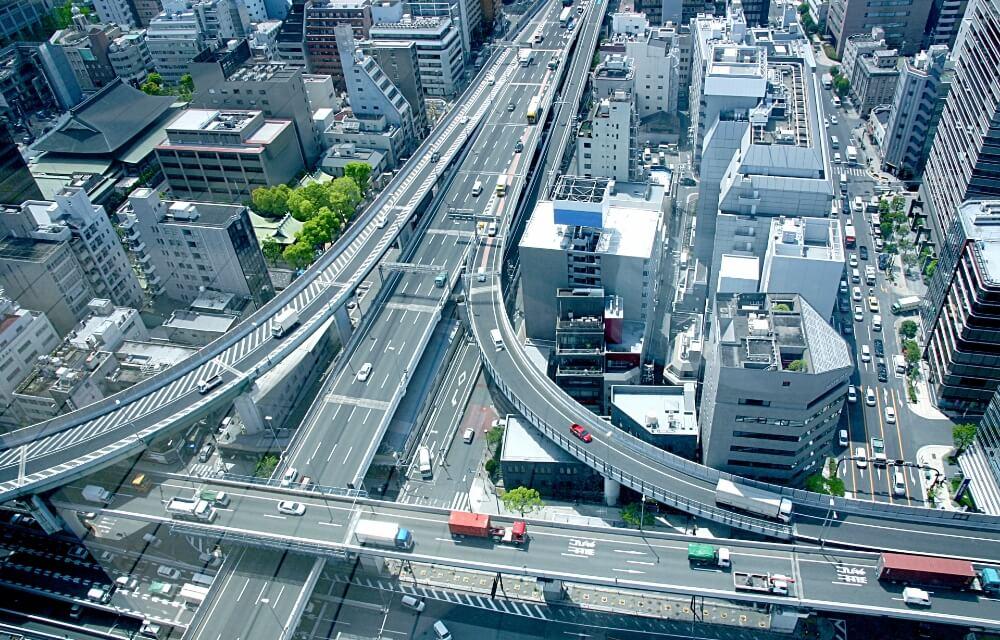 日本全国の輸送ネットワーク